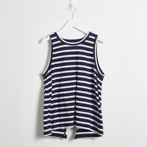 3 for $20 | J Crew Navy & White Striped Tank Top